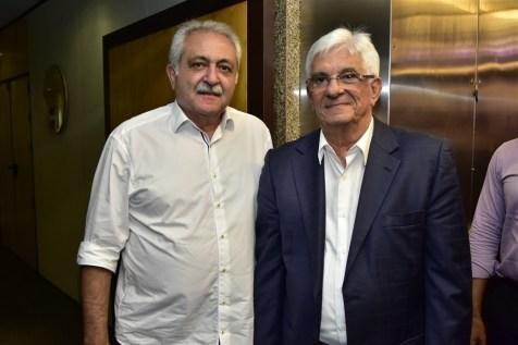 Paulo Baquit e Assis Machado