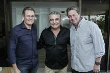 Sergio Macedo, Alfredo Cruz e Arag+úo Neto