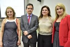 Solange Palhanho, Edilberto Pontes, Kelly de Castro e Regina Mindelo