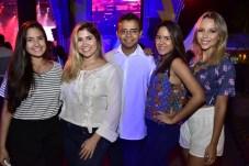 Vitória Onofre, Raissa Miranda, Frabicio Freitas, Bruna Gomes e Hanna Estela