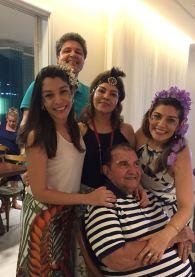 Ricardo Lopes comemora 25 anos de casado em almoço no Golfe Ville