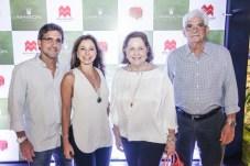 Adalberto, Sandra, Mirian e Assis Machado