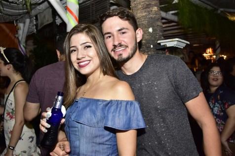 Ana Maria Guedes e Rafael Catão