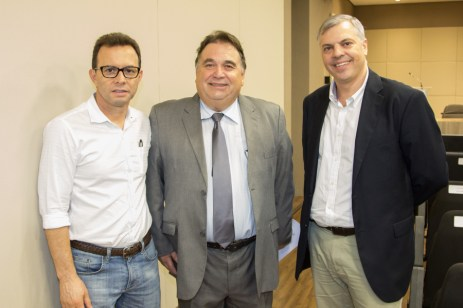 Antônio Vidal, Carlos Alberto Lancia e Lucas Ferianci (1)