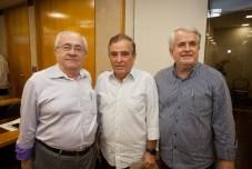 Antunes Mota, Cláudio Targino e Eduardo Bezerra