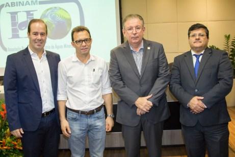 César Ribeiro, Antônio Vidal, Ricardo Cavalcante e Alexandre Brenand (2)