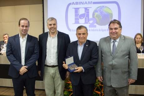 César Ribeiro, Lucas Ferianci, Claudio Targino e Carlos Alberto Lancia