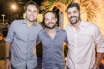 Daniel Arrais, Samuel Max e Felipe Capistrano (2)