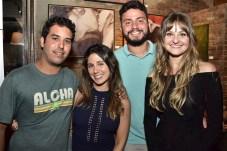 Fabio Franklin, Camila Macêdo, Renan e Stefani Falcão