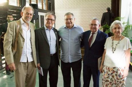 Inácio Arruda, Lucivan Miranda, Sulivan Mota, Henry Campos e Rita Brasil (3)