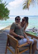 Magno Nogueira e Carla Brasil já se encontram nas Ilhas Maldivas no luxuosíssimo Anantara Veli Maldives Resort para passar o carnaval