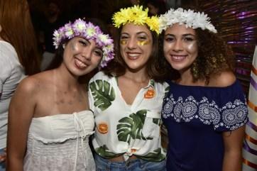 Nayara Hasegewa, Natalia Fernandes e Gabriela Albino