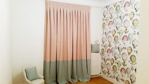confection de double rideaux sur mesure