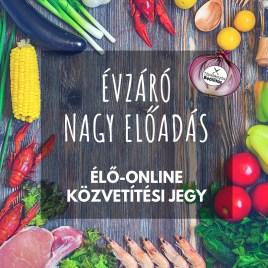 ÉLŐ-ONLINE KÖZVETÍTÉSI JEGY: Évzáró Nagy Előadás 2018.12.14.