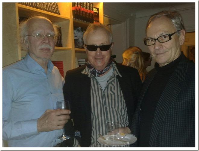 Ludvig Rasmusson, jag och Lars-Ragnar Forsberg