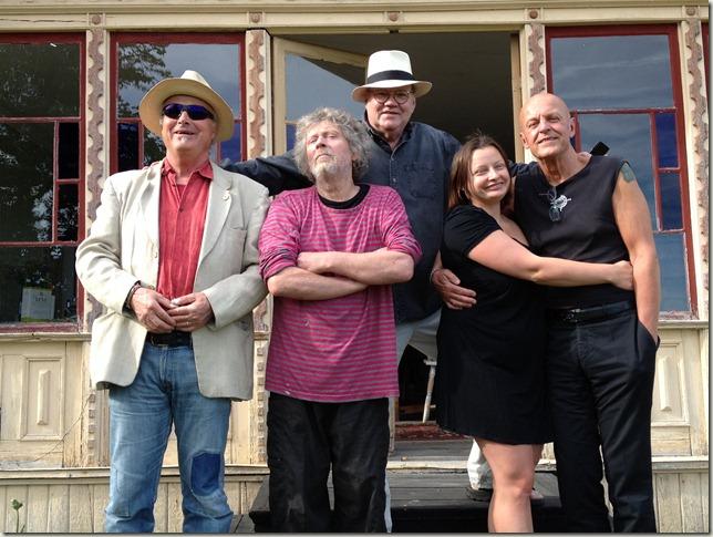 Björn, Urban, Masha, Stanley och jag