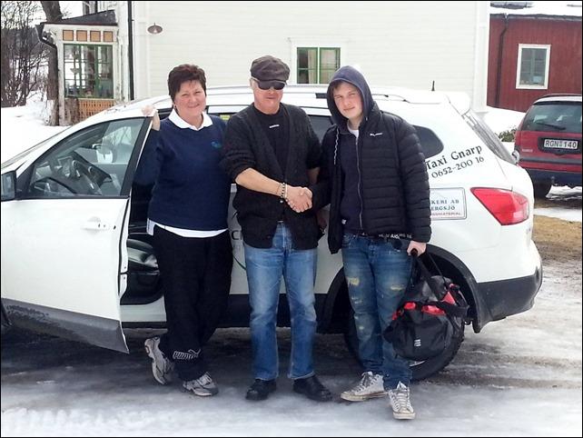 Lena Ström och hennes Taxi samt Greven och jag