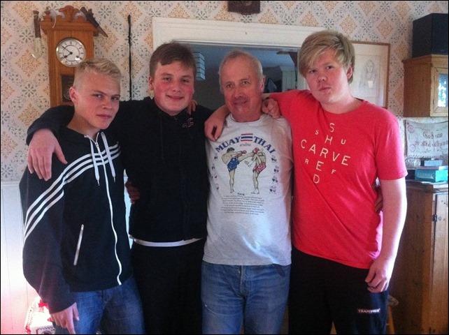 Jesper, Greven, jag och Savolainen