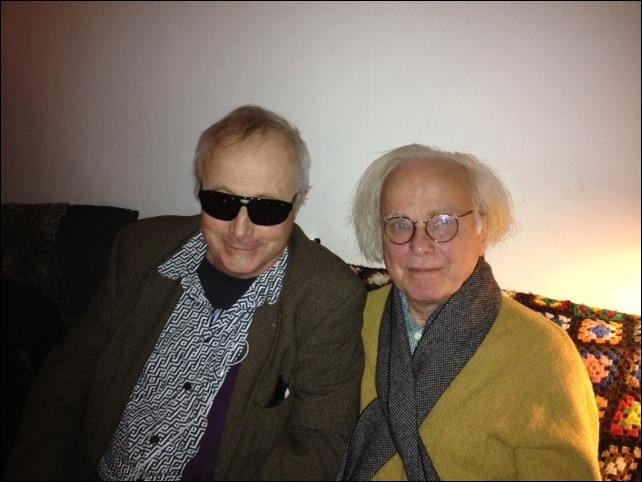 Jag och Torkel Rasmusson