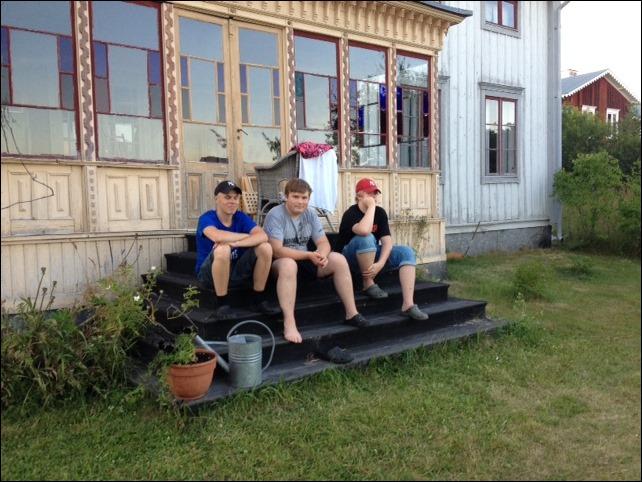 Jesper, Savvo och Greven