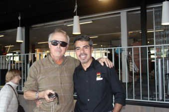 Yuri Yanez och jag
