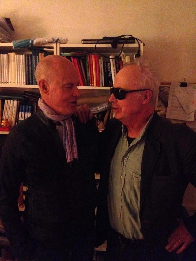 Stefan Sauk och jag