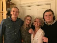 Vidar, Sofi, Celine och Greven