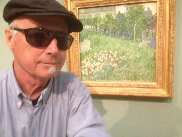 Van Gogh, lyssnar på en tavla