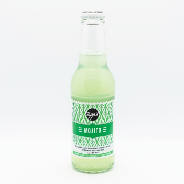 Mojito Ready To Drink Bottled Cocktail Isolated Product Image 3