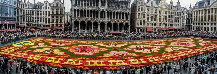Brussels | Grand Place | Carpet of Flowers | Belgium | Travel with kids
