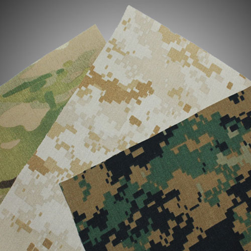 Custom Kydex Gun Holster Cloth Fabric Lamination Sample Options of Camo Patters