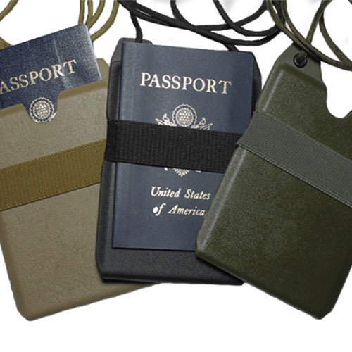 Custom Kydex Passport Carriers by Tap Rack Holsters and Custom Kydex Gun Holsters