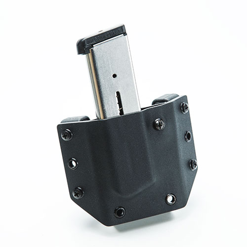 Single Magazine OWB (Outside the Waist Band) Holster by Tap Rack Holsters and Custom Kydex