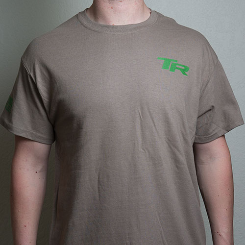 Tap Rack Holsters and Custom Kydex branded swag T-Shirts