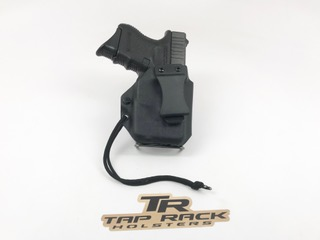 TRCIWBH   Tap Rack Clip Inside the Waistband Gun Holster with Clip and Light Attachment