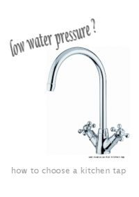 low water pressure taps and sinks online
