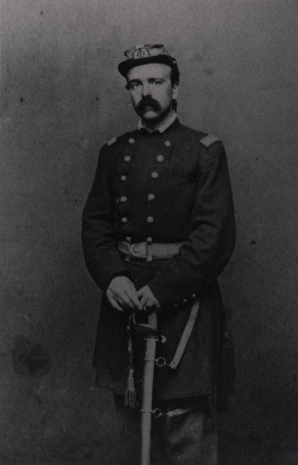Daniel Butterfield as a colonel in the Twelfth N.Y. Militia