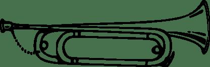 bugle_29_black_white_line_art_coloring_book_colouring-1969px