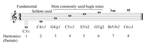 figure 7-bugle scale