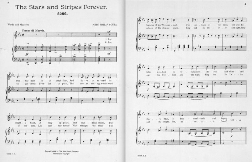 Stars and Stripes Forever Song