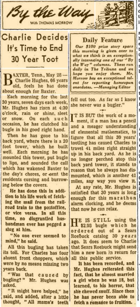 Chicago Tribune May 1954