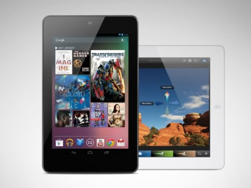 Included Media on the Google Nexus 7
