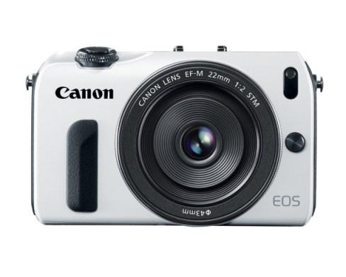 Canon EOS M in White