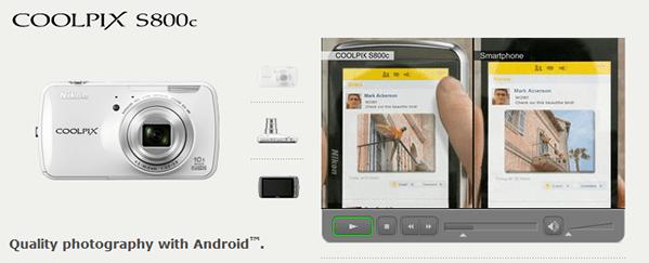 nikon android camera