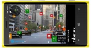 Nokia Lumia 920 maps