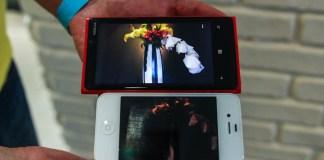Nokia Lumia 920 vs iPhone 4S Camera