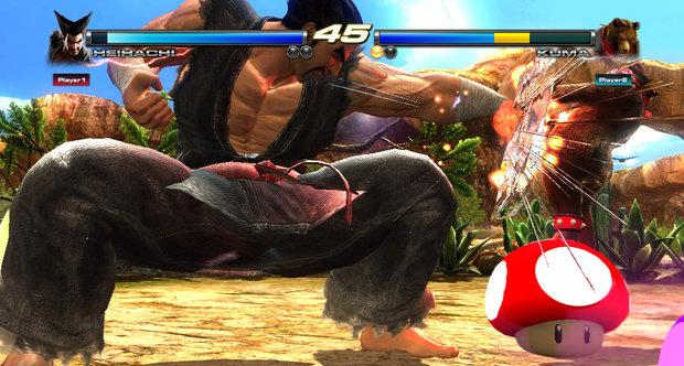 Tekken Tag Tournament 2 Wii U Edition Mushroom Battle