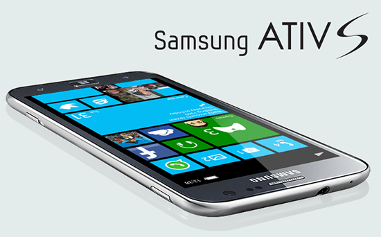 Windows Phone 8 Samsung Ativ S