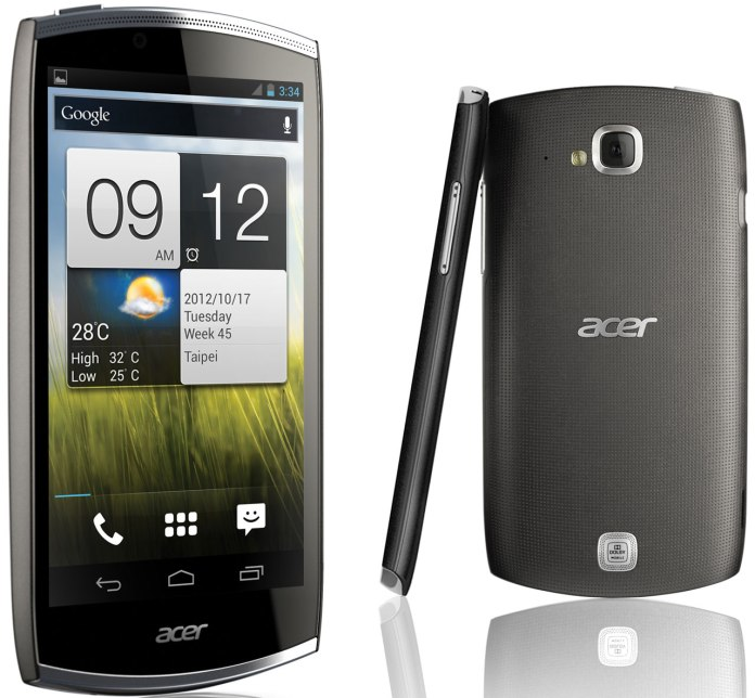 iPhone 5 Galaxy S III Alternative Acer Cloudmobile