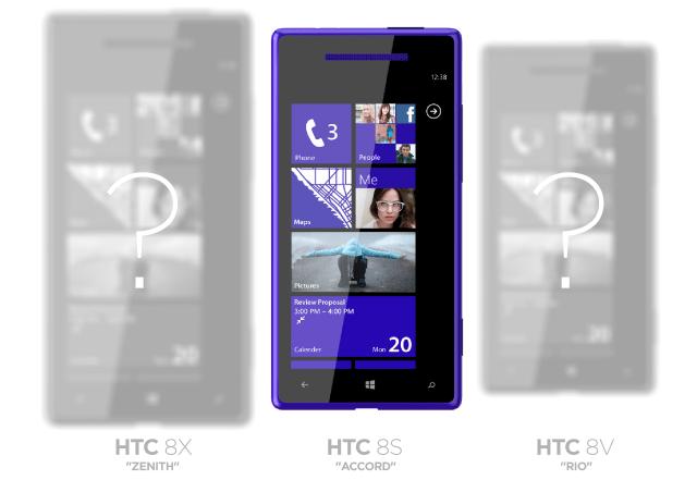 iPhone 5 competitor HTC Windows Phone 8